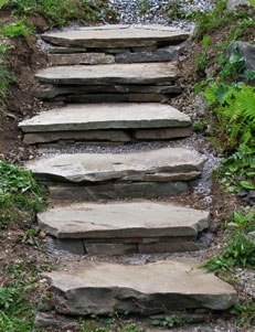 Superieur Flagstone Garden Steps